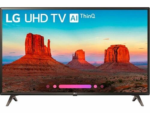 LG 49 inch smart 4k TV