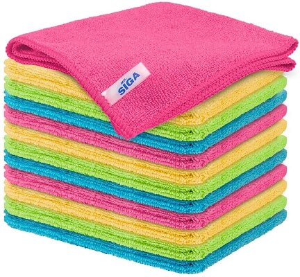 MR.SIGA Microfiber Cleaning Cloth