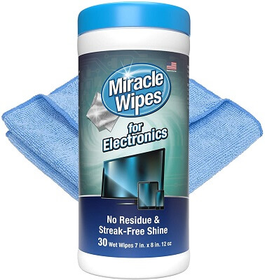 MiracleWipes Screen Wipes Designed for TV