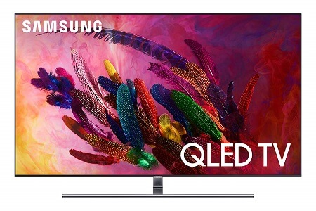 Samsung QN55Q7F - Best 55 inch TV under 1000 Dollars