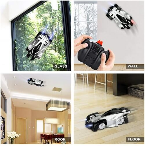 wall climbing Rc cars