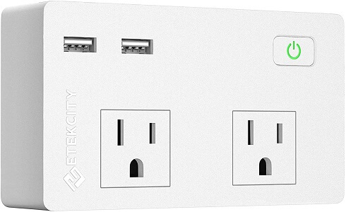 Etekcity Wall Surge Protector Power Strip
