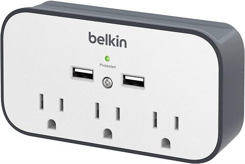Belkin 3 outlet surge protector