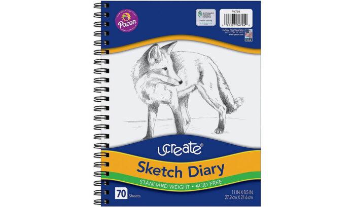 Pacon 4794 UCreate Sketch Diary
