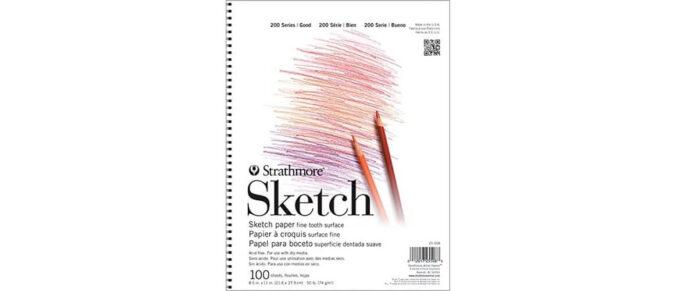 Strathmore 100 Sheet Cheap Sketchbook