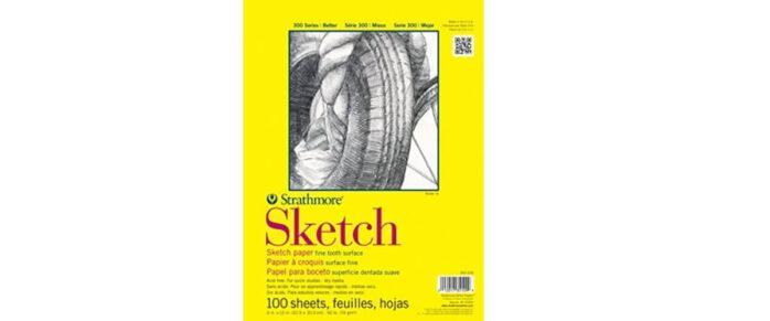 Strathmore 350-6 300 Series Sketch Pad