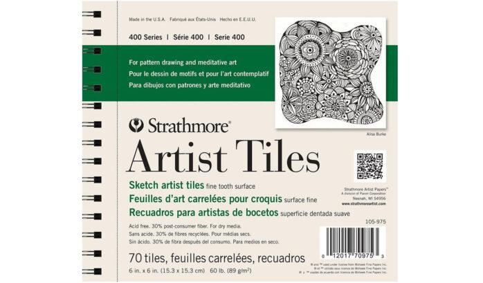 Strathmore Sketch Artist Tiles 70 Sheets