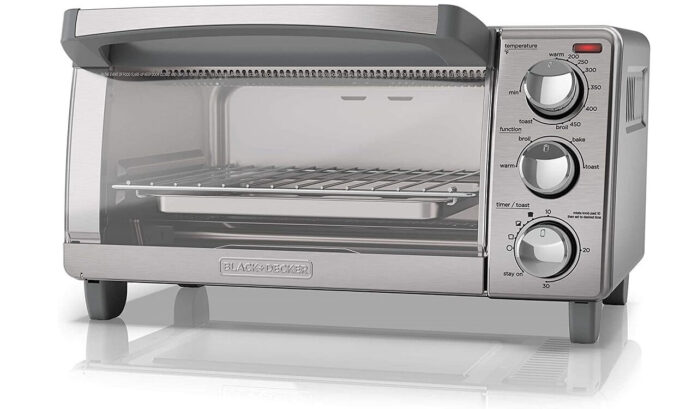 BLACK+DECKER 4-Slice Toaster Oven