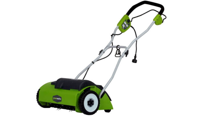 Greenworks 14-Inch Small Lawn Mower