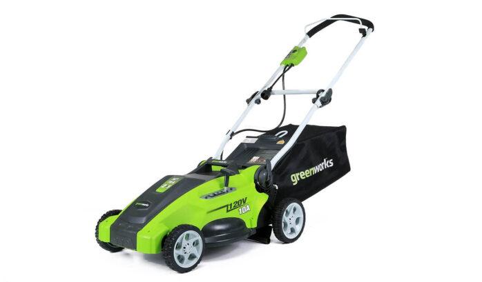 Greenworks 16-Inch Electric Lawn Mower