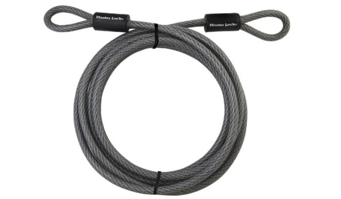 Master Lock Cable Steel Cable With Looped Ends