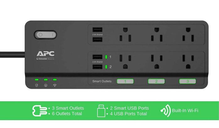 APC Smart Plug Wifi Power Strip
