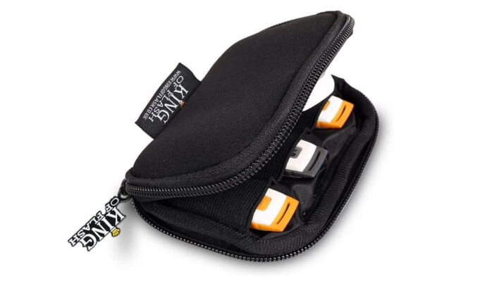 KingFlash Flash Drives Carrying Case
