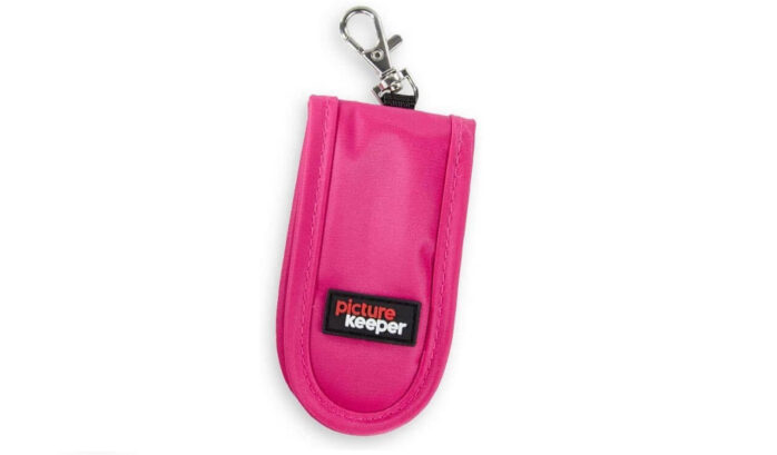 Picture Keeper USB Flash Drive Key Chain Holder