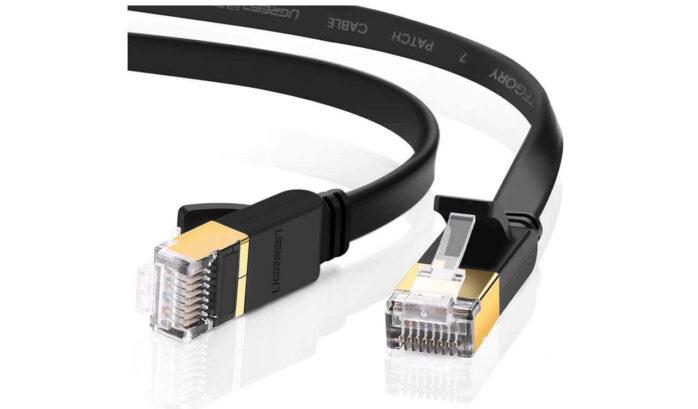 UGREEN Cat 7 Ethernet Cable Shielded Gigabit Flat