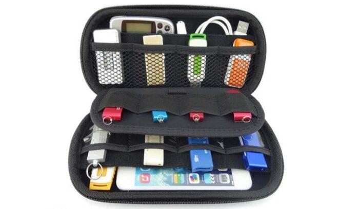 ZXUY Big Capability USB Flash Drives Bag
