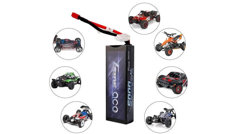 Gens ace 5000mAh LiPo RC Car Battery