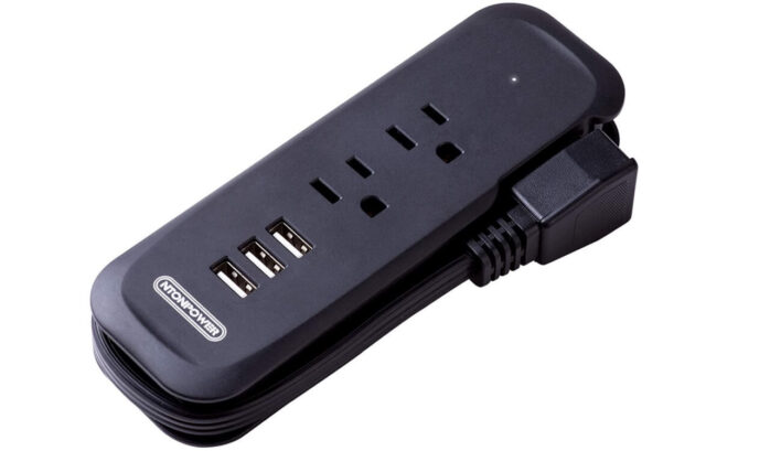 NTONPOWER Small Power Strip with USB