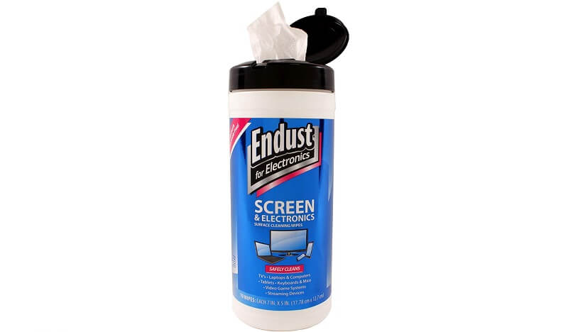 Endust for Electronics Surface cleaning wipes