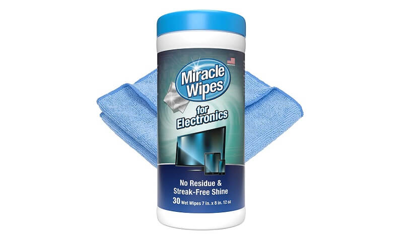 MiracleWipes for Electronics Cleaning