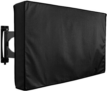 Clicks Outdoor TV Cover With Bottom Cover