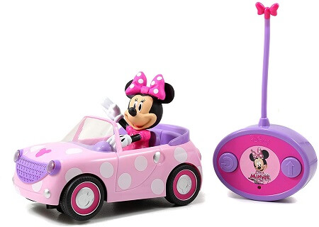 Disney Junior Minnie Mouse Roadster RC Car for girls