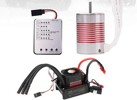 Innovateking 3650 5200KV Sensorless Brushless Motor with 120A ESC Electronic Speed Controller