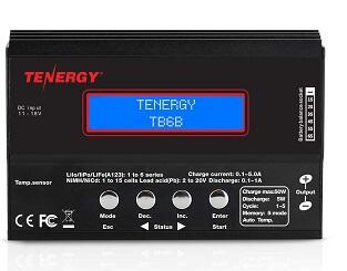 Tenergy TB6-B Balance RC Car Charger