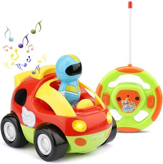 Toy Life Remote Control Car for Toddler Boys