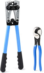 IWISS Battery Cable Lug Crimping Tool