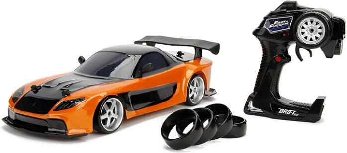 Jada Toys Fast and Furious Mazda RX-7 Drift RC Car