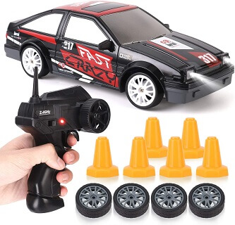 RC Drift Car 4WD Remote Control Sport Racing On-Road Vehicle