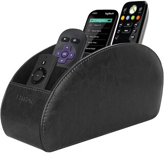 SITHON 5 Compartment Remote Control Holder