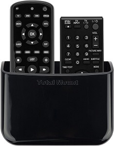 TotalMount Universal TV Remote Control Holder