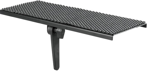 WALI TV Top Shelf 12 Inch Flat Panel Mount