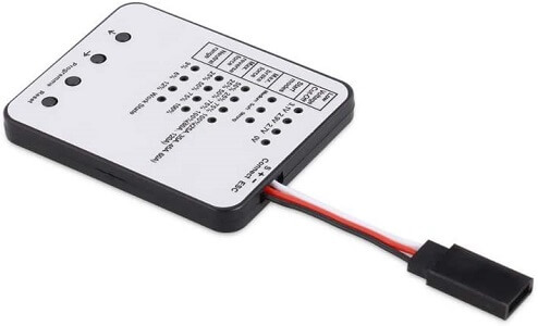 RC Programming Card RC Car Electronic Speed Controller Programmer