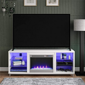 Ameriwood Home Fireplace TV Stand