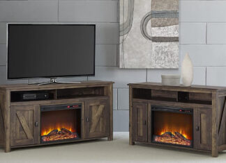 Best TV Stands With Electric Fireplace