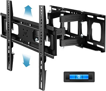 Everstone Full Motion TV Wall Mount with Height Adjustment