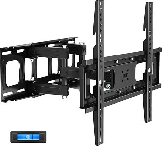 JUSTSTONE Full Motion TV Wall Mount with Height Setting