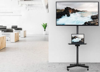 Best TV Stands With Wheels